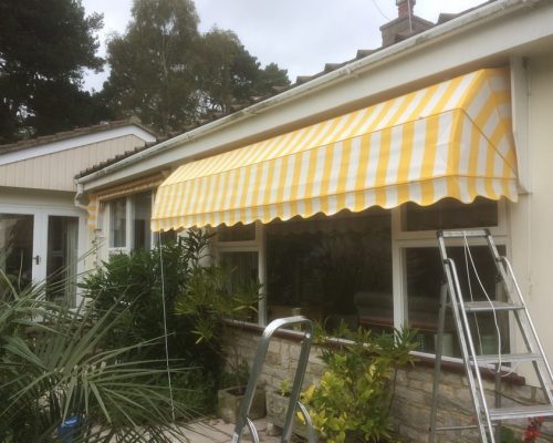 Striped Dutch Canopies