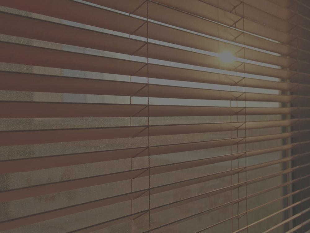 Venetian blinds, Bournemouth